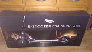 DR GREEN E Scooter ESA Electric Scooter 350W £179 @ LIDL Instore Newtown