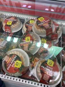 Iceland King Prawn Ring & other Christmas Items £2 - Instore only
