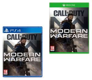 Call of Duty Modern Warfare (PS4 / Xbox One) for £34.49 delivered @ 365games