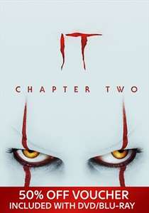 Get 50% horror movies on Sky Store when you buy the new IT Chapter Two movie £13.99