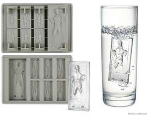 Han Solo in Carbonite Silicone Ice Mold Mini Ice Cube Tray - £2.41 delivered @ Anivia Official Store / AliExpress