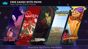Twitch Prime Free Games - Dandara/ Splasher/ Anarcute/ Kingdom New Lands/ A Normal Lost Phone (PC) @ Twitch Prime
