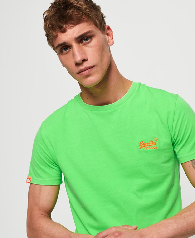 Superdry Orange Label Neon T - Shirt (various colours available) £8.35 @ Super / eBay