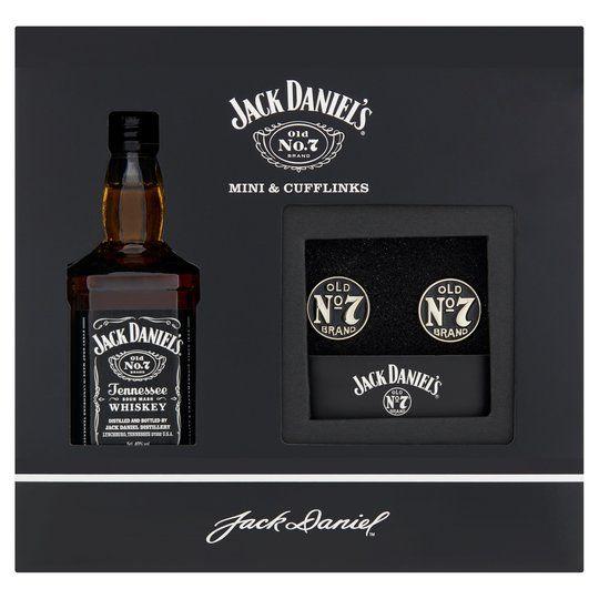 Jack Daniels Tennessee Whiskey Mini (50ml) and Cufflinks for £3 @ Tesco