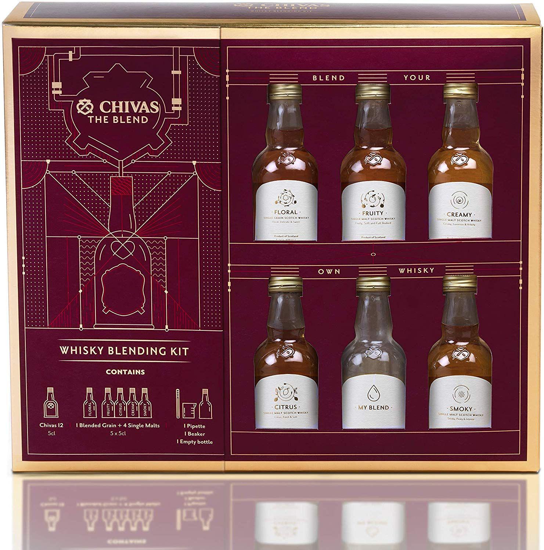 Chivas Regal Scotch Whisky Blending Kit, 6 x 5cl for £7.50 @ Tesco