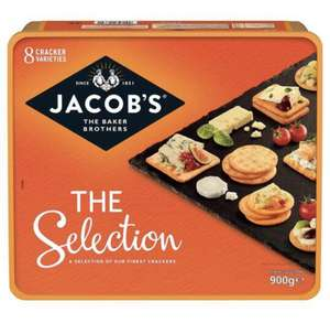 Jacobs Cracker Selection 900g - NOW £1.22 in store at Tesco