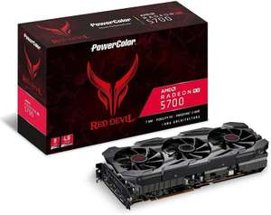 PowerColor Radeon Red Devil RX 5700 8GB Graphics Card £353.47 @ Ebuyer