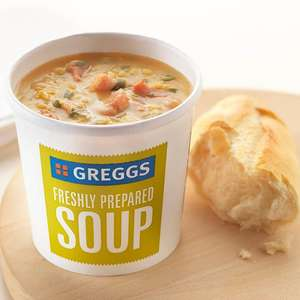 Free soup from Greggs Treating myself to a tasty lunch — VeryMe