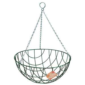 14in Traditional Hanging Basket £1 reduced from £4.50, free C&C @ Wickes