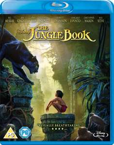 Disney the jungle book live action blu ray £3.99 delivered @ Base.com