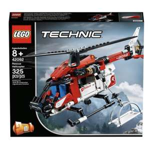 Lego Technic 42092 Rescue Helicopter 2 in 1 Building Set £12.50 at Tesco