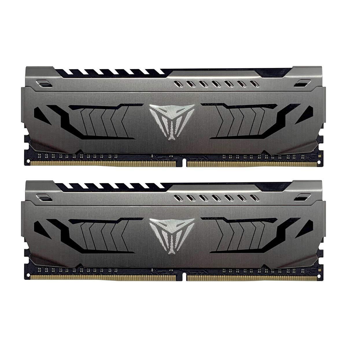 Patriot Viper Steel 32GB (2x16GB) DDR4 C16 3200MHz Memory Kit £109.95 at Amazon