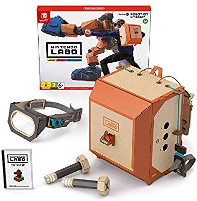Nintendo switch Nintendo Labo: Robot Kit £10.99 £10.99 (Prime) / £15.48 (Non Prime) at Amazon UK