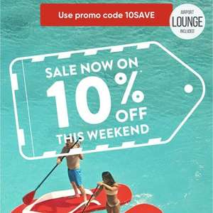 10% off virgin holidays this weekend using code