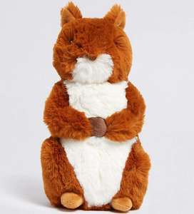 Squirrel Nutkin from Peter Rabbit Soft Toy now £4 with free Click and Collect @ Marks & Spencer