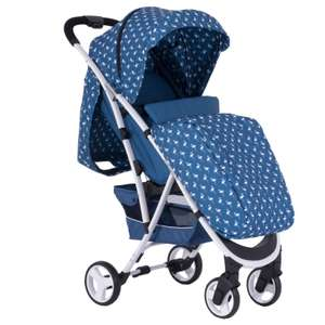 My Babiie MBX6 Pushchair Sam Faiers Collection Navy Blue Flamingo Includes Free Raincover & Footmuff £89.95 Delivered From online4baby
