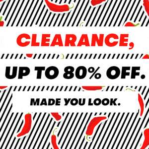 Up to 80% Off + Extra 25% Off using code @ Shoeaholics