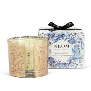 Large 3 wick Neom candles reduced to £24.30 with code @ Neom
