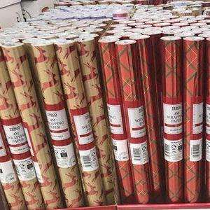 Christmas Wrapping Paper now 50p a Roll @ Tesco