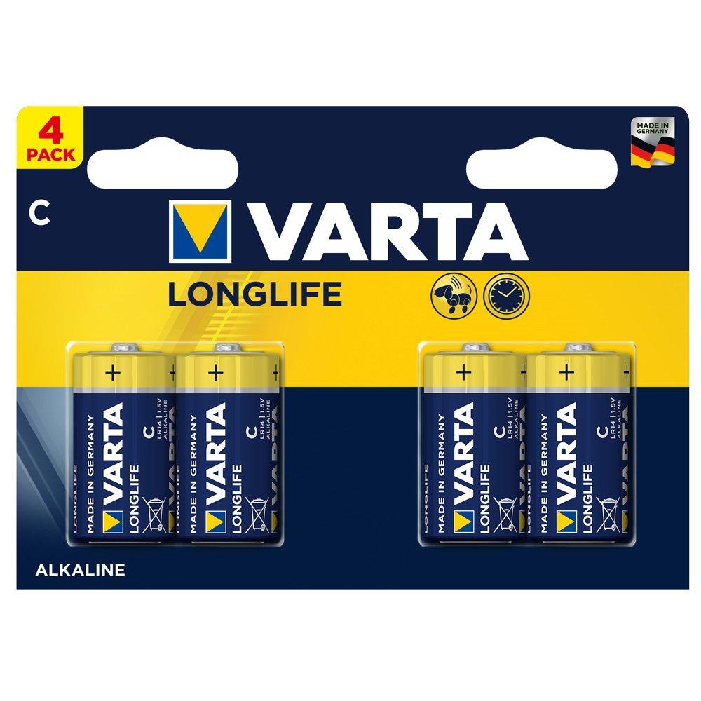 Varta batteries C, pack of 4 - £1.88 @ Amazon add-on item