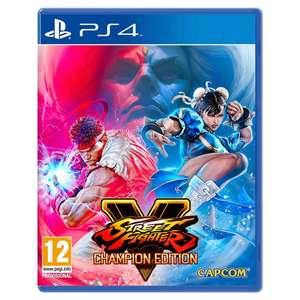 Street Fighter V Champion Edition (PS4) £21.85 (Preorder) Delivered @ Shopto