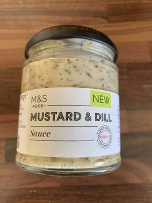 Mustard & Dill sauce - 25p instore @ Marks and Spencer (Sheffield)
