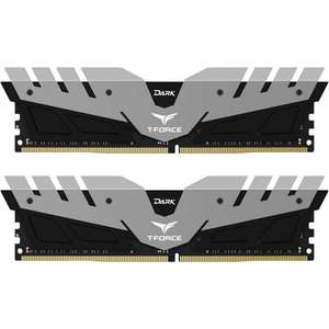 Dark T-Force 16GB (2x8GB) DDR4 PC4-25600C16 3200MHz Dual Channel Kit - £71.69 delivered @ Overclockers