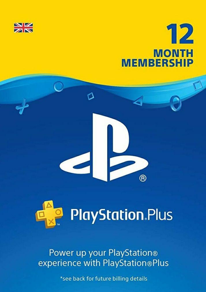 PlayStation Plus - 12 Months UK Account - £37.49 @ Amazon