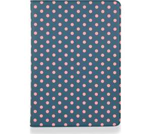 """GOJI 9.7"""" iPad Folio Case - Blue & Pink - 97p @ Currys PC World + Click and Collect"""