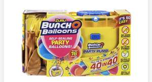 Zurich bunch o balloons party pump £7.49 and balloons @ Smyths