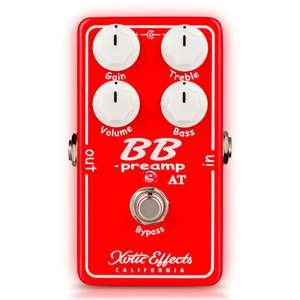 Xotic Limited Edition Andy Timmons BB Preamp Guitar Pedal £99 Delivered @ Andertons