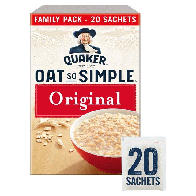 Quaker Oat So Simple Original Family Pack Porridge 540g £1.75 at Morrison's
