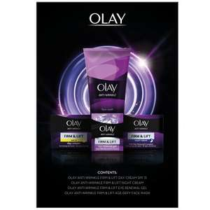 Olay anti-wrinkle regime gift pack @ lloyds pharmacy, £12.50 Free click and collect, + £3.95 delivery or free delivery if you spend over £35
