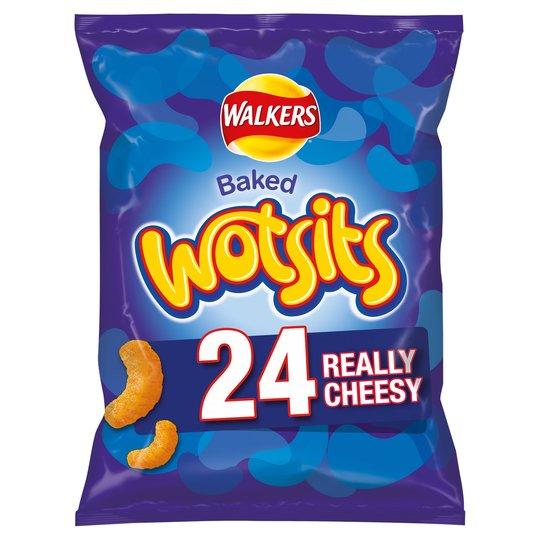 Wotsits - 24 x 16.5g bags at Sainsbury's £2.25 instore