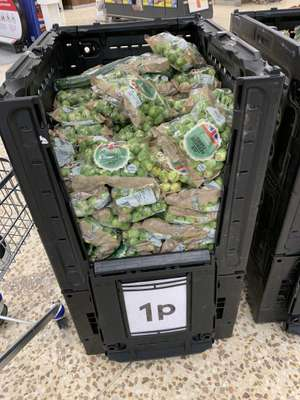 Brussels Sprouts - 1p @ Tesco (Romford)