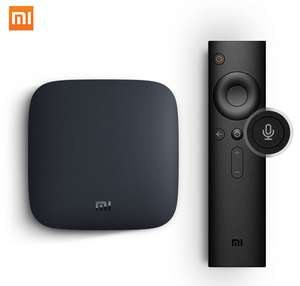 Mi Tv Box 3 android TV box with Official Android TV 8.0 OS for £36.86 delivered (£34.55 for new users) @ AliExpress Deals / Xiaomi MC Store