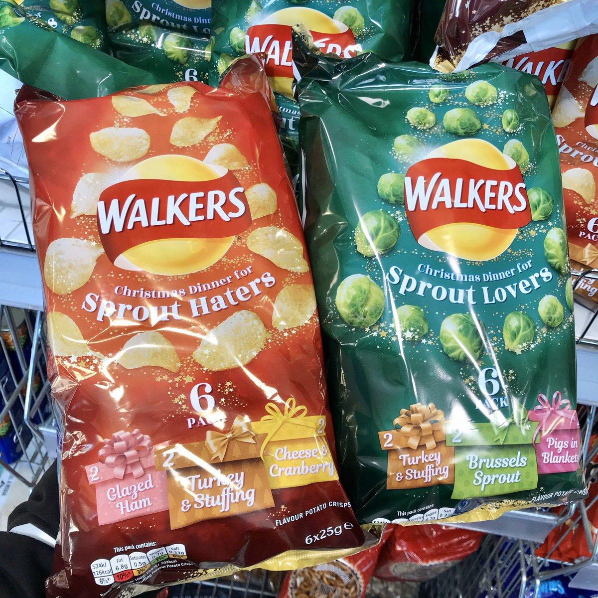 Walkers Sprout Lovers & Haters 6pk 50p @ Coop Food Bridge of Earn