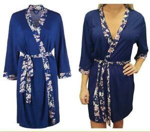 Women's Bridesmaid Robe Kimono Dressing Gown Ladies Wedding Robe Housecoat Belt £4.99 at pulsar777pulsar eBay