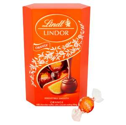 Lindt Orange 200g Box @ Coop Food (Bridge of Earn store) - £2.60