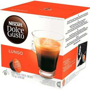 Dolce Gusto 16 pods Lungo £1.50 at Fultons Foods
