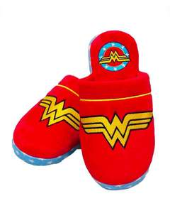 Official DC Wonder Woman retro-style slippers for £2.99 delivered @ Geek Store
