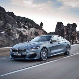 BMW 8 Series Gran Coupe 840i sDrive 4dr Auto - 24m Lease - 8k miles p/a - £449.99pm + £2700 initial + £150 admin = £13200 @ Leasing Options