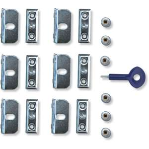 Yale X6 Window Screw Lock Set £4 & 2 Yrs Guarantee @ Homebase (Free Click & Collect)
