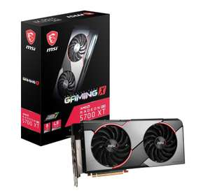 MSI Radeon RX 5700 XT GAMING X with Deliveroo £20 voucher and AMD games offer. £399.99 @ Ebuyer