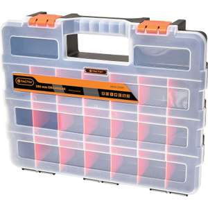 Tactix 380mm Plastic Storage Organiser , Now £3.30 (others available) @ Homebase + Free Click & Collect