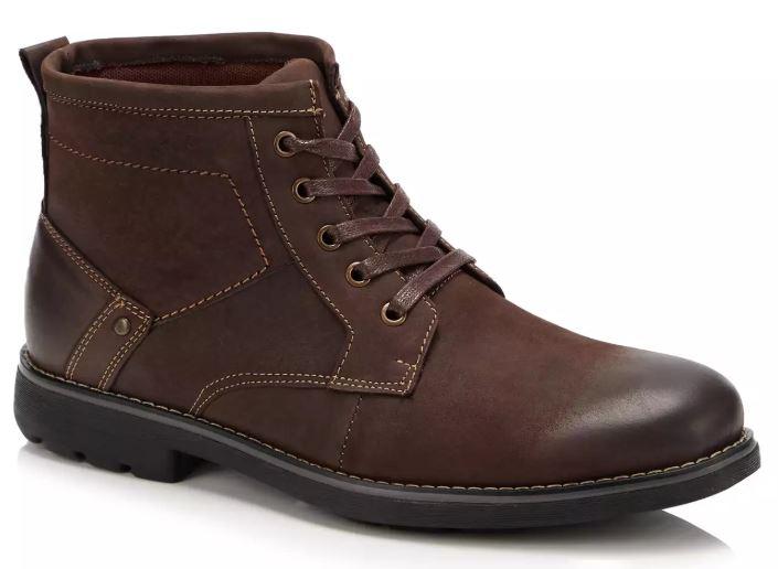 Hush Puppies - Brown Leather 'Duke' Boots £40 at Debenhams
