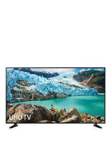 Samsung UE55RU7020KXXU 55 Inch HDR Smart 4K TV With Apple TV - £379 (£341 With 1st credit order code PAPWD) @ Very