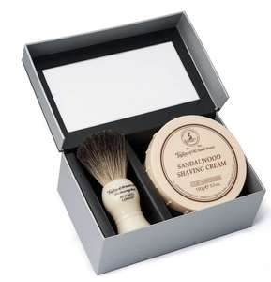 Taylor of Old Bond Street Pure Badger Brush and Sandalwood Bowl Gift Box Set £20.60 @ Amazon