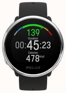 Polar | Ignite | Activity and HR Tracker Smartwatch | Black Rubber | M/L £148.32 With Code @ First Class Watches