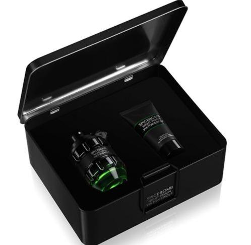 Boots - Viktor & Rolf Spicebomb Night Vision 90ml Premium Mens Aftershave Gift Set £48